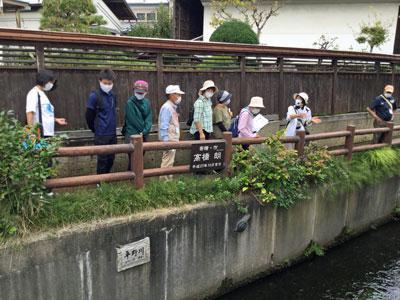 ☆水路をめぐる「まち歩き観光」を行いました