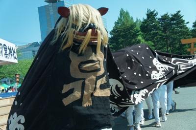 【第23回ながい黒獅子まつり~泉 羽黒神社】