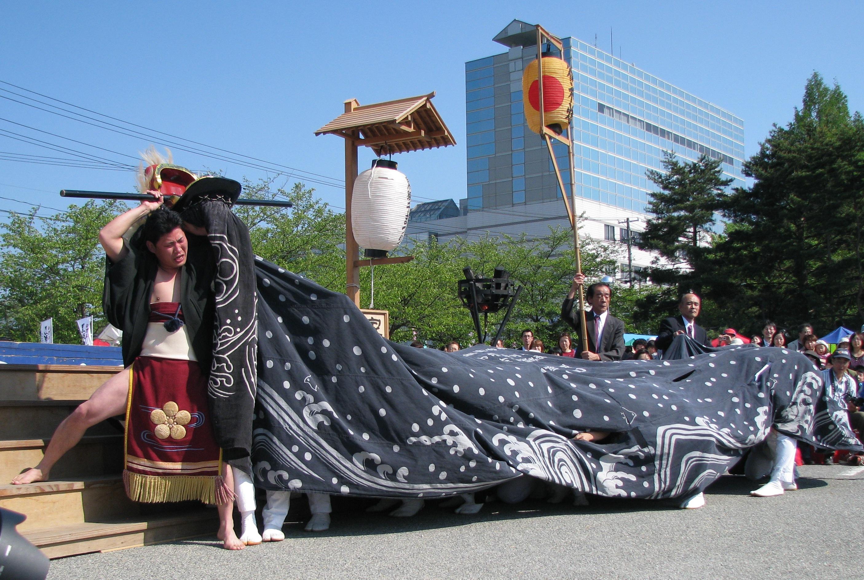 【第23回ながい黒獅子まつり~平山 熊野神社】