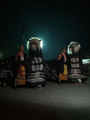 【第23回ながい黒獅子まつり~小出 白山・皇大神社】