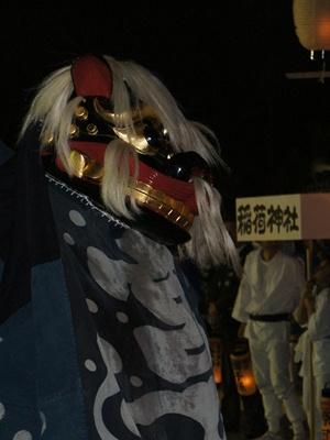 【第24回ながい黒獅子まつり~九野本 稲荷神社】