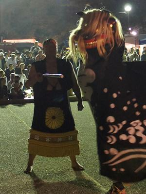 【第25回ながい黒獅子まつり~宮 總宮神社】