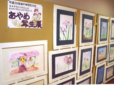 【あやめ写生大会 作品展&入賞者発表!】:画像