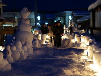 【ながい雪灯り回廊まつり2015】