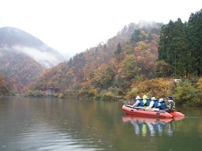【秋の三淵渓谷】:画像