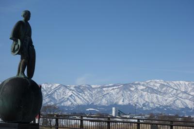 【長井橋からの景色】