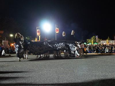 【第27回ながい黒獅子まつり〜總宮神社(宮)】:画像
