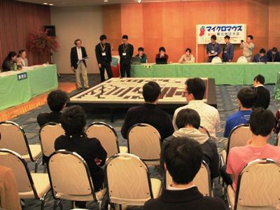 【第29回マイクロマウス東北地区大会、無事終了!】