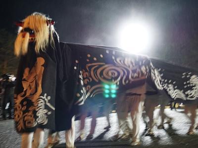 【第29回ながい黒獅子まつり−若宮八幡神社(河井)−】:画像