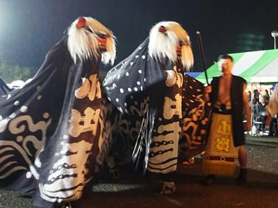 [the 29th long black lion Festival - Shiroyama Shrine, Kotai Shrine (Koide) -] : Image