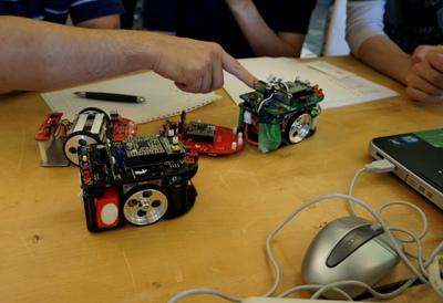 【マイクロマウス技術講習会が開催されました】
