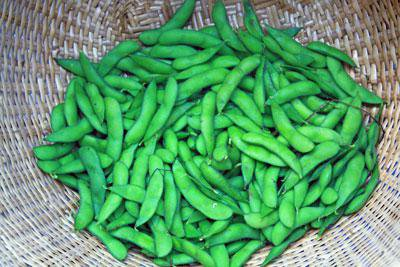 "[exquisite green soybeans! ""Secret bean""]: Image"
