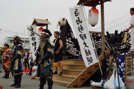 【第30回ながい黒獅子まつり〜夜まつり黒獅子舞】/