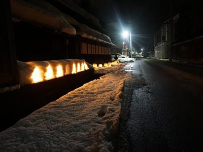 【第17回 ながい雪灯り回廊まつり2020≪予告≫】:画像