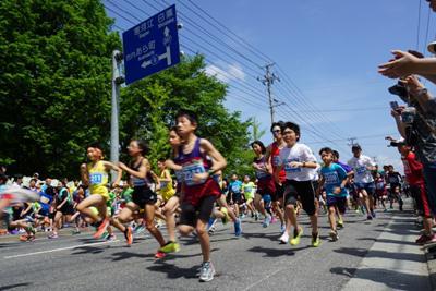 【白つつじマラソン大会《参加者募集中》】:画像