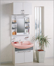 2006/03/09 09:25/クリナップ 洗面化粧台 BTYシリーズ