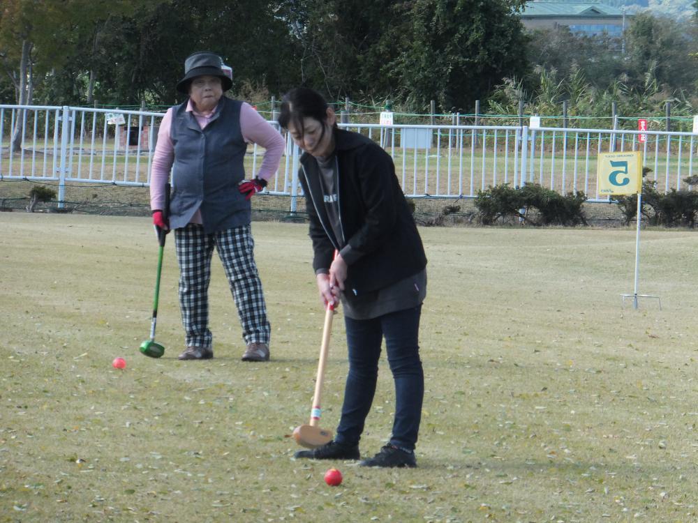 親睦グラウンドゴルフ大会でリフレッシュ!