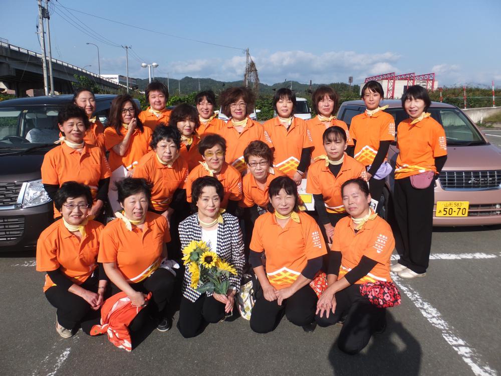 村山地区商工会女性部連絡協議会全体研修事業を行いました
