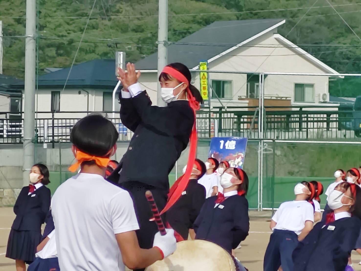 赤湯中体育祭