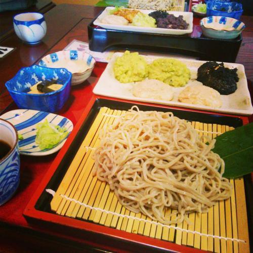 伊佐沢のお蕎麦屋さん