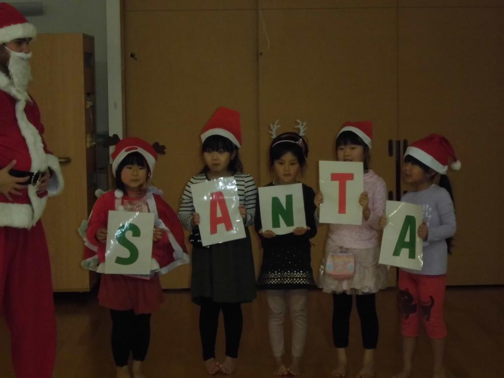 クリスマス会☆♪