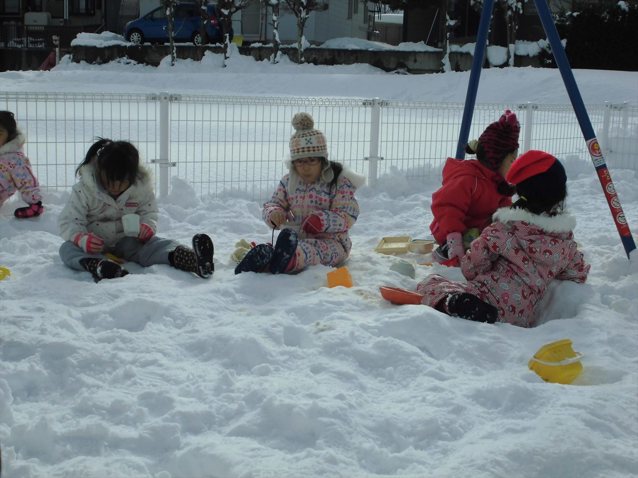 雪あそび パート1