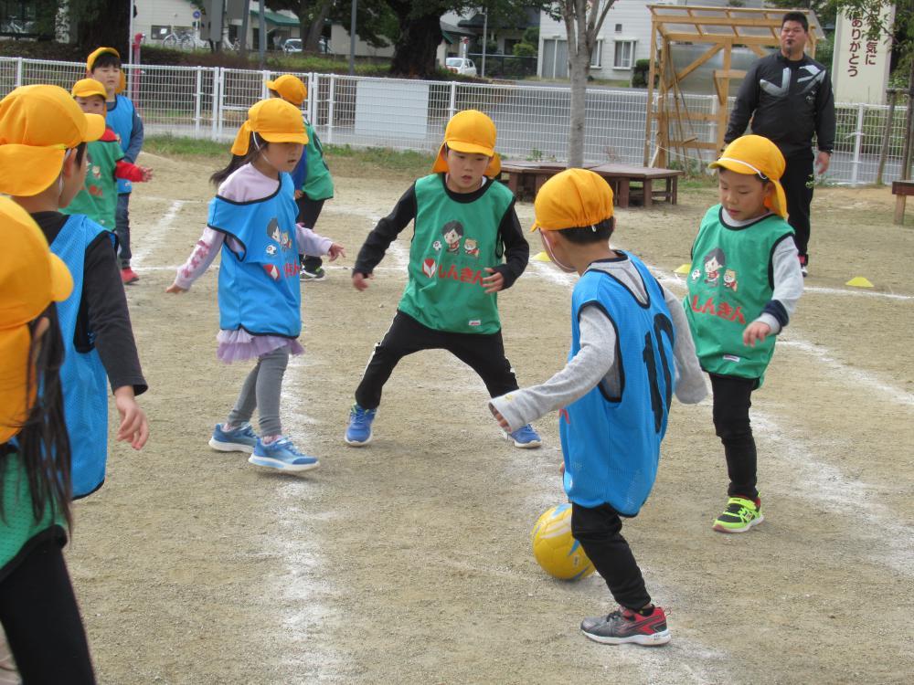 『サッカー教室(ゆり組編)』 2020/10/15