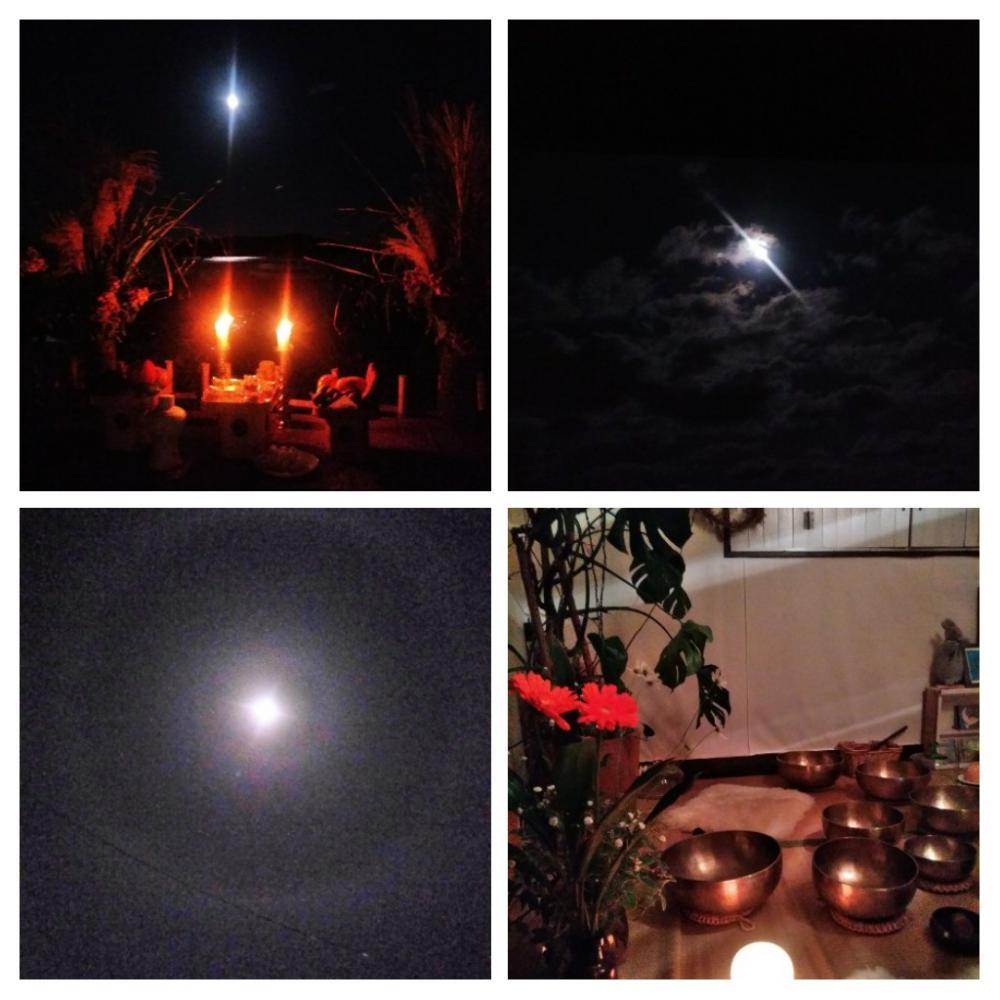 10月6日満月「お月さま瞑想ライブ」ありがとうございました。