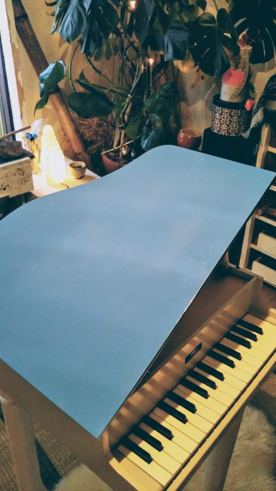 トイピアノのお色直し完成!