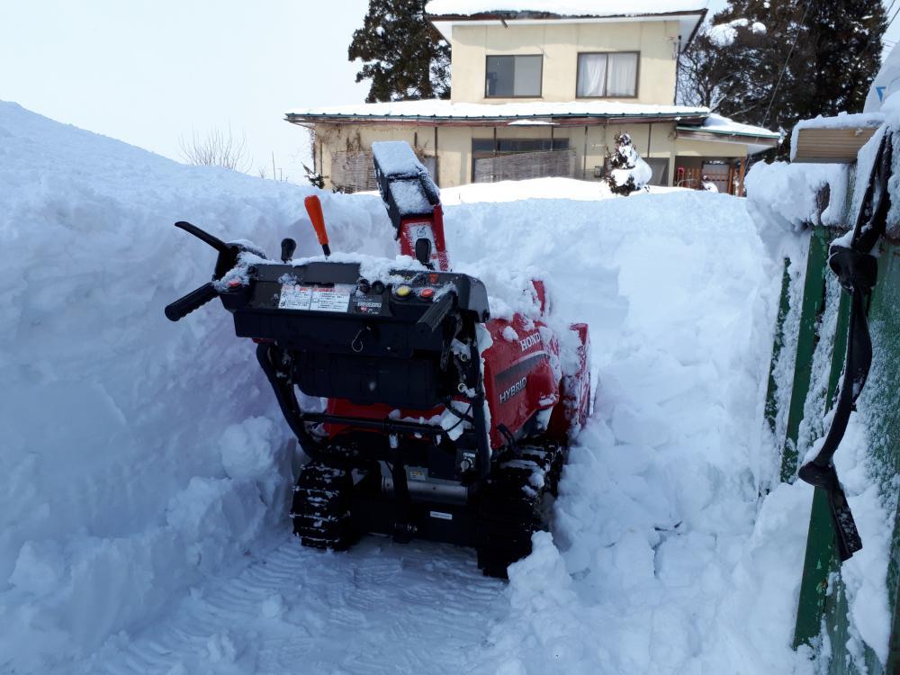 絶賛、除雪中です。(置賜版)