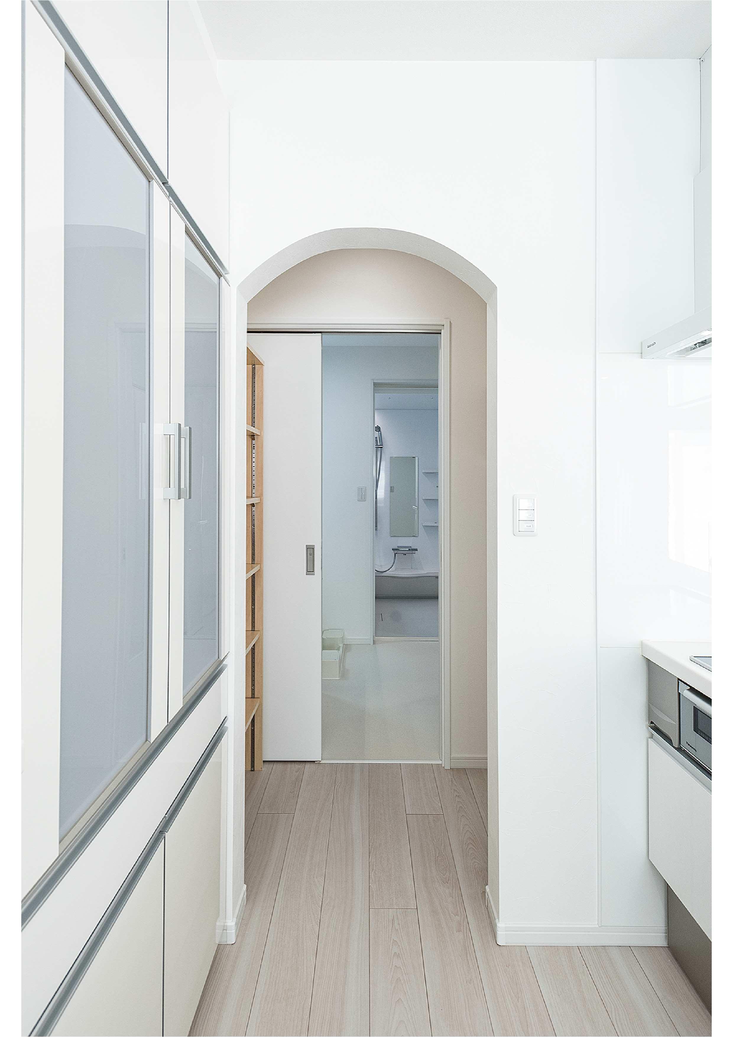 キッチン〜脱衣室