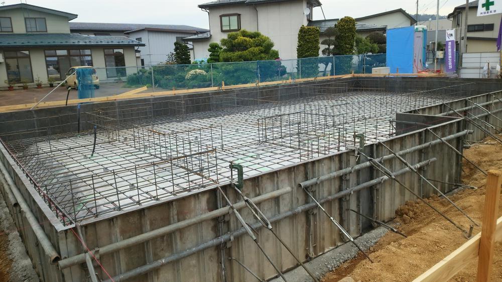 長井モデルハウスの進行状況 パート2
