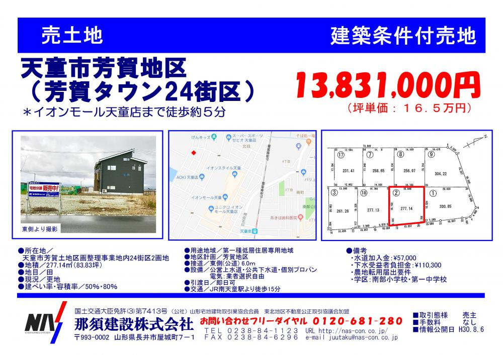芳賀タウン24街区2:画像