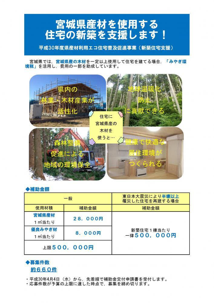 県産材利用エコ住宅のこと:画像