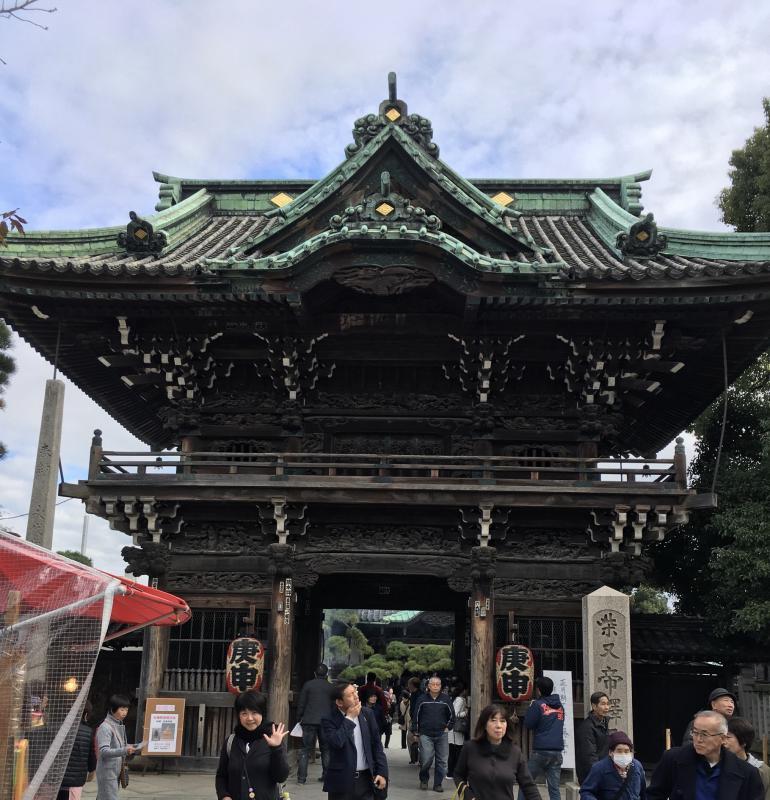 タカコの建物探訪〜柴又帝釈天〜