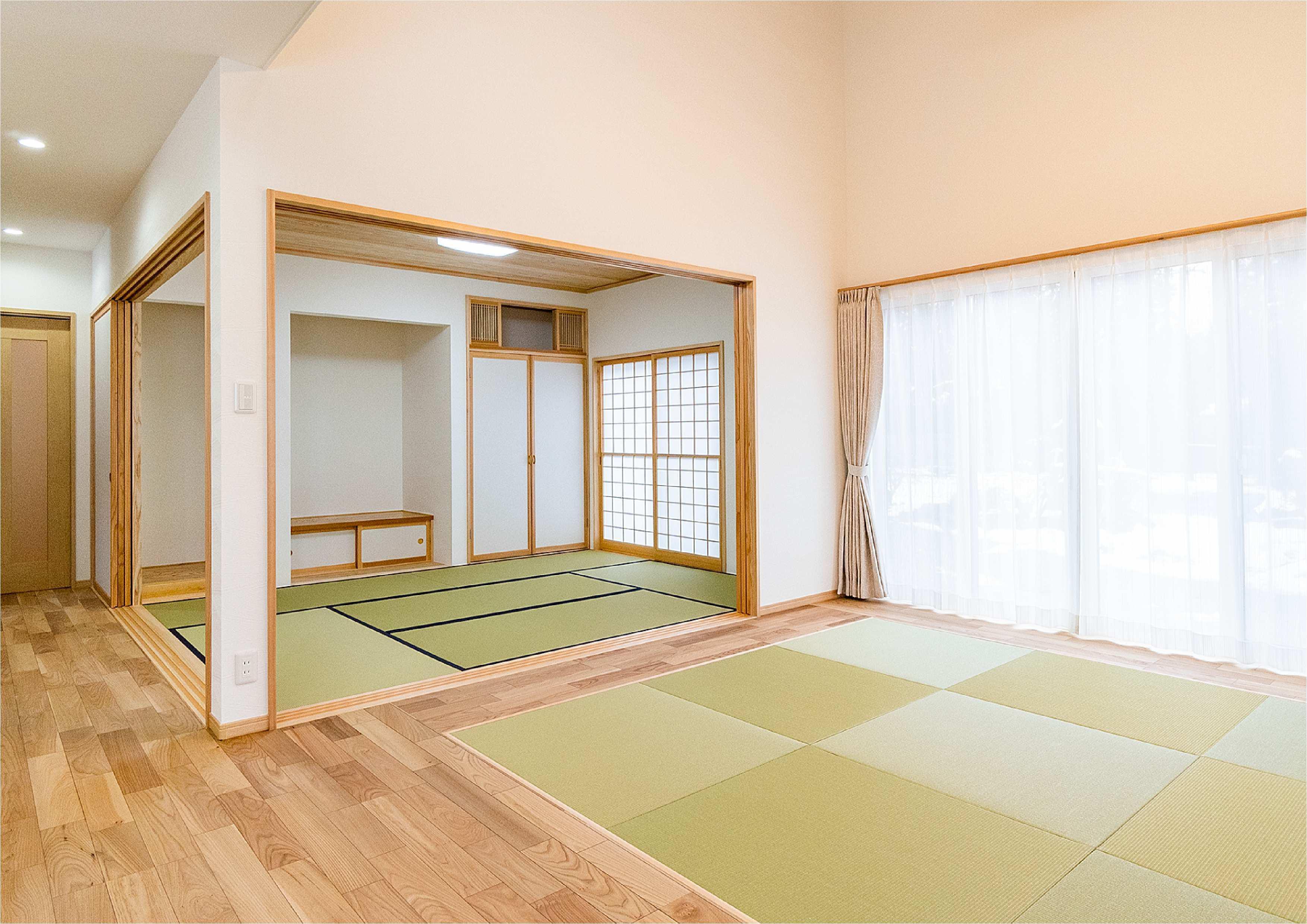 和室〜タタミリビング