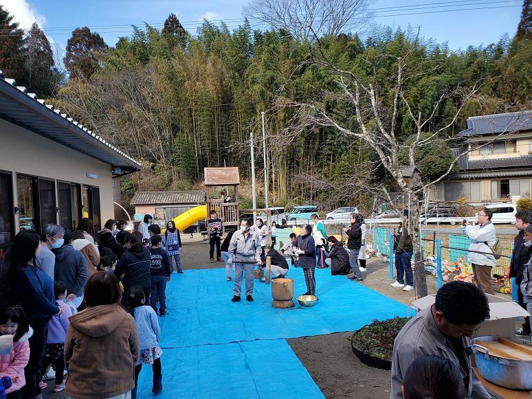 もちつきイベント IN気仙沼・キッズルームおひさま:画像