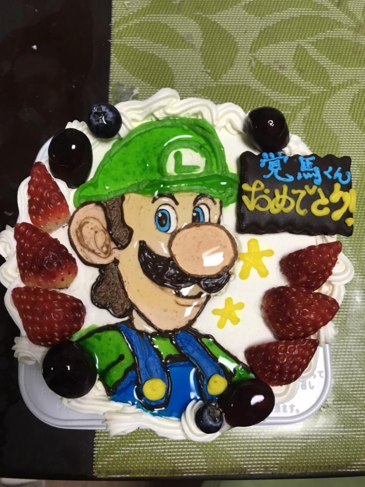 誕生日ケーキ☆:画像