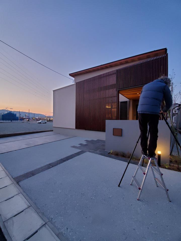 東根モデルハウス写真撮影
