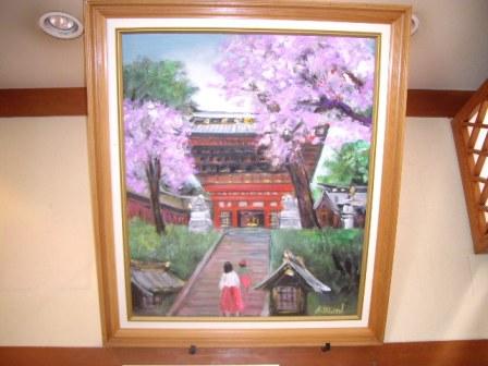 2013/04/16 10:19/店内の桜も満開です