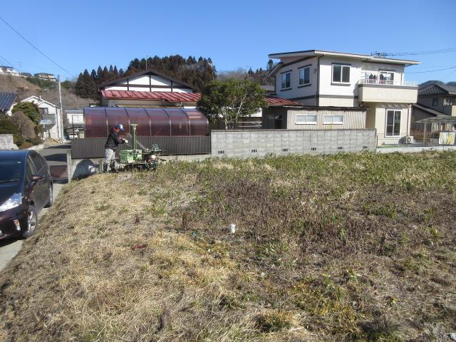 「私のしろい家」仙台市 地盤調査