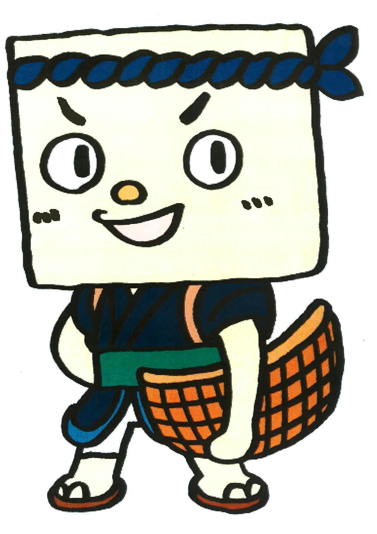 とうふのすけ(木綿豆腐):画像