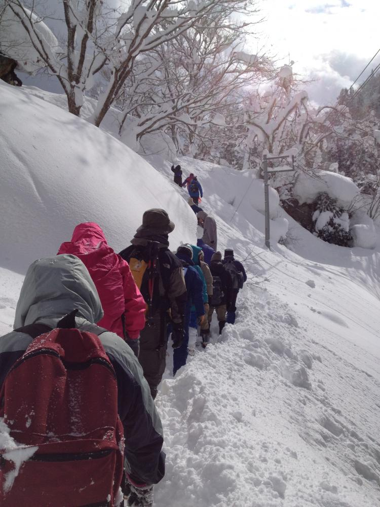 尾花沢雪まつりイベント「厳冬の銀山温泉かんじきツアー」参加者募集