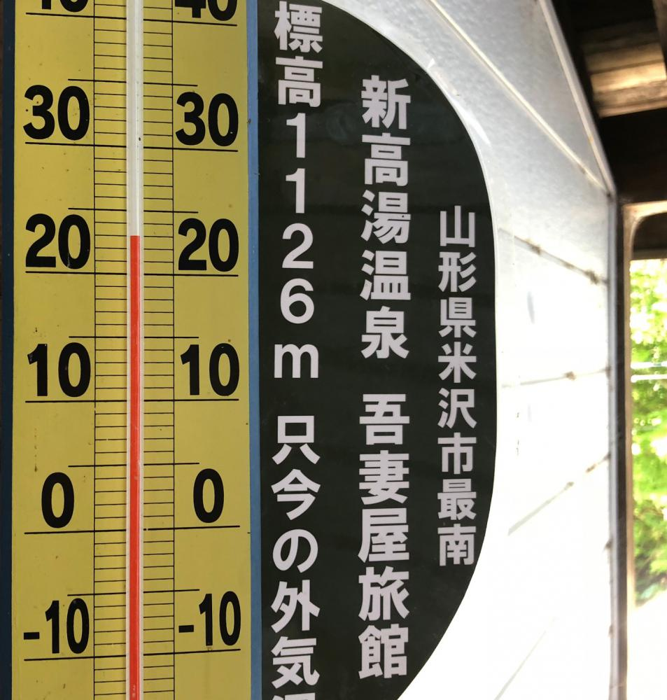 It is 23 degrees Celsius as of 10:30! This world seems to be more than 31 degrees Celsius then. : Image