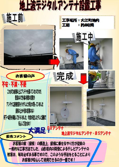 2010/04/17 11:22/地上波デジタルアンテナ設置工事[大江町]