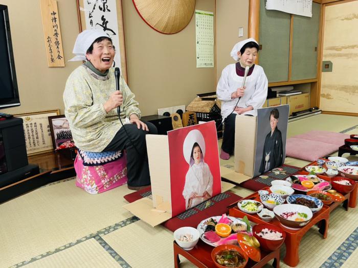 おらんだ専科情報紹介 中津川 祝い膳と葬式膳:画像