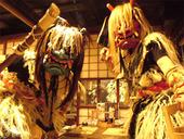 日本文化論②なまはげと黒獅子