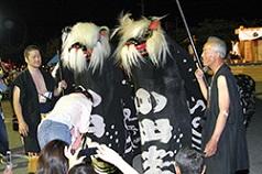 長井の黒獅子祭り
