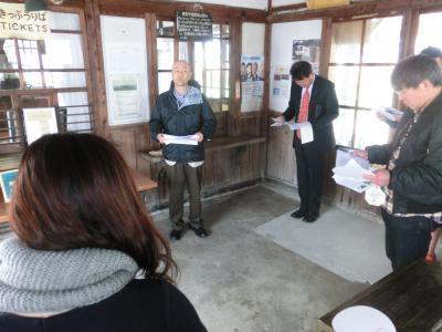 長井線祭りin成田駅②