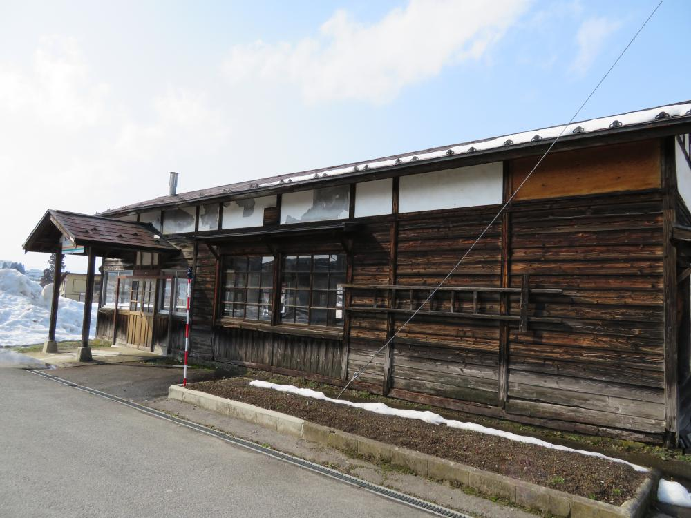 30年前の西大塚駅
